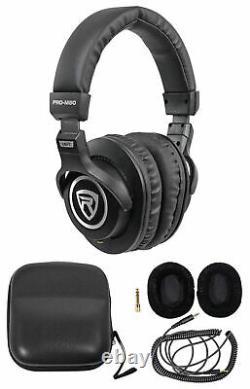 (2) Presonus Eris E8 XT 8 Powered Studio Monitors+Headphones+Mic+Stands+Pads