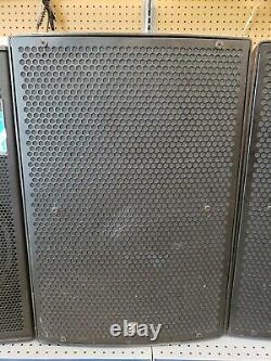2 Yorkville PS15P 1400 watts Powered 15 two Way Loud Speaker Pair
