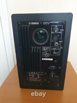 2 x Yamaha HS7 Powered Studio Monitor Speakers Black Pair