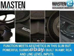 720 W Under Seat Active Ute Amplified Subwoofer with 720 Watts Peak Power 10