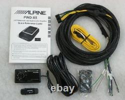 ALPINE PWD-X5 POWERFUL ACTIVE SUBWOOFER + 4-channel AMP + DSP BLUETOOTH NEW 2020
