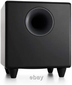 Audioengine S8 250W Powered Active Subwoofer Built-in Amplifier Black