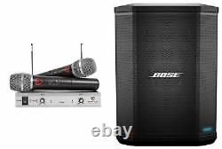 BOSE S1 PRO Powered Rechargeable PA Speaker Monitor withBluetooth+Wireless Mics