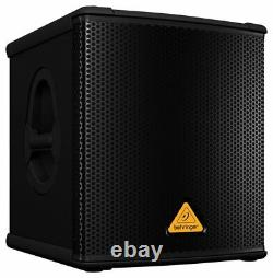 Behringer B1200D-PRO 12-inch Active Subwoofer Powered DJ Compact Sub 500W