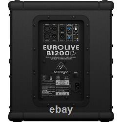 Behringer Eurolive B1200D-PRO 500W 12 Powered Subwoofer