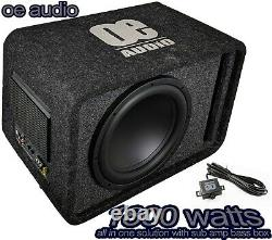 Big Power 1800W 12 Amplified Active Subwoofer Sub Amp bass box FreeDelivery
