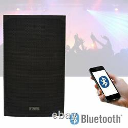 Citronic CAB-12SL 12 1200W Active Powered Speaker With Bluetooth Stereo Link