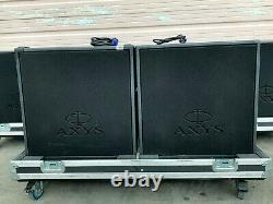 DURAN AUDIO AXYS B-07G2 SINGLE 18'' POWERED SUB (PAIR)WithCASE