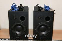 Dynaudio BM15A Powered Studio Monitors Black (2 Monitors) 110/220v