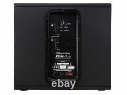 Electro-Voice ZXA1SUB120V 12 inch 700W Compact Powered Subwoofer/120V/Black