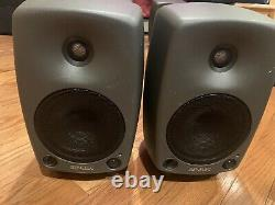 Genelec 8030B Monitor Speaker Pair with Power Cable
