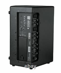 HK Audio Premium PRO MOVE 8 Multifunctional Battery Powered PA System Speaker