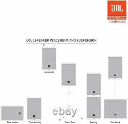 JBL EON610 Two-Way 10 1000W Powered Portable PA Speaker with Bluetooth Control