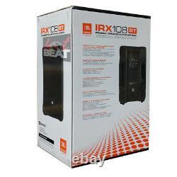 JBL IRX108BT Powered 8 Portable PA System Loudspeaker with Bluetooth 5.0