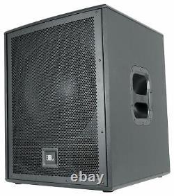 JBL IRX115S 1300w 15 Powered Active Subwoofer Portable Pro Audio PA Sub