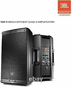 JBL Model EON612 1000W 12-inch 2-way Multipurpose Self-Powered PA Speaker