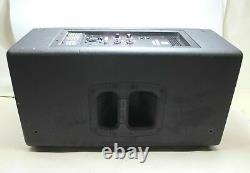 JBL PRX812W 12 1500 Watt 2-Way Powered Speaker Active Monitor With Cover