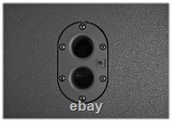 JBL SRX812P 12 2000 Watt Powered DJ PA DSP Speaker+Mackie Mixer+(3) Samson Mics