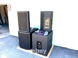 Jbl Prx815w & Prx818xlfw Powered Speaker Package