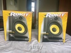 KRK Rokit 6 G3 Active / Powered Studio Monitors Pair