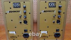 KRK Rokit RP5G3VG-NA 5 in 2-Way Professional Powered Studio Monitor RARE GOLD