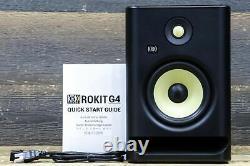 KRK Systems ROKIT 7 G4 Bi-Amp 145W 7 Powered Near-Field Studio Monitor (Single)