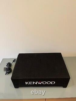 Kenwood PA-W801B 8 Active Subwoofer In Ported Enclosure 400W Power Underseat