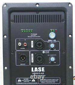 LASE VRX 615-AB with DSP Power Amplifier Convert Your Passive to Active Speaker
