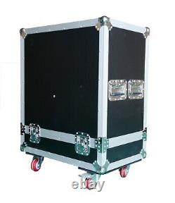 Line Array Active 8 With Powered Subwoofer Flight Case & Hanging Frame