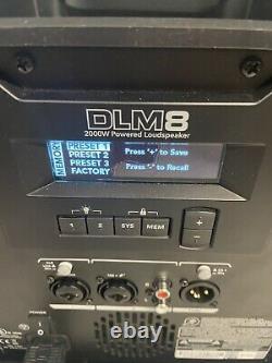 Mackie DLM8 Full-Range 8 Powered Loudspeaker