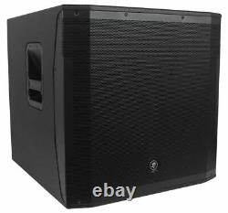 Mackie SRM1850 1600 Watt 18 Powered Subwoofer Sub For Church Sound Systems