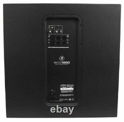 Mackie SRM1850 1600W 18 Powered Active Pro Subwoofer Sub with Smart Protect DSP