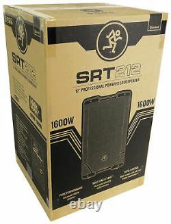 Mackie SRT212 12 1600 Watt Powered Active DJ PA Speaker withBluetooth, Class D