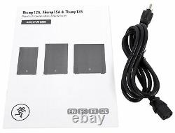 Mackie Thump15A THUMP-15A 15 1300 Watt Powered Active DJ PA Speaker, Class D