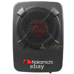 Nakamichi 8 Car Dual Port Active Subwoofer Amplified 1500W Max Power NBF8.1A