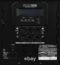 New Mackie DLM12S 2000W 12 Powered Active Live Sound DJ PA Subwoofer Sub