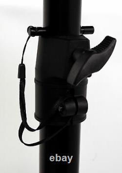 Pair Presonus Eris E3.5 3.5 Powered Active Studio Monitor Speakers+Stands