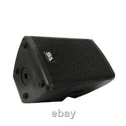 Pair of Powered 12 1000W PA /DJ Loudspeaker DSP, Bluetooth, Mixer, Class D Amp