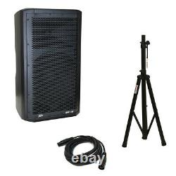 Peavey DM 112 Dark Matter Pro Audio DJ 650W Powered 12 Speaker with Stand & Cable