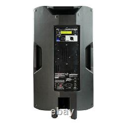 Peavey DM115 Pro Audio DJ 2-Way 15 2-Way Powered PA Speaker