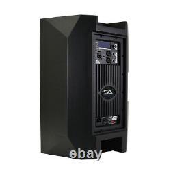Powered 12 1000 Watt PA /DJ Speaker with Bluetooth, DSP, Mixer & Class D Amp