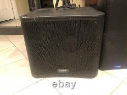 QSC KW181 1000W Powered 18 inch Subwoofer