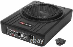 Renegade rs1000a Active UNDER-SEAT SUBWOOFER WITH POWER AMPLIFIER AMP