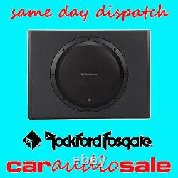 Rockford Fosgate P300-12 12 Active Powered Sub Subwoofer Amplified Box Wiring