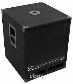 Rockville RBG15S 15 1600w Active Powered PA Subwoofer withDSP + Limiter Pro/DJ