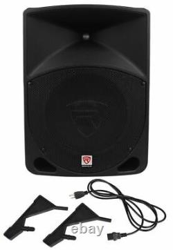 Rockville RPG10 10 Powered Active 600 Watt 2-Way DJ PA Speaker System