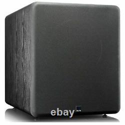 SVS PB2000 Subwoofer 1500W Active Powered Sub 12 Class D Amplifier Black Ash