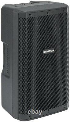 Samson RS110A 10 300 Watt Powered Active Bi-amped DJ PA Speaker withBluetooth/USB
