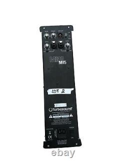 Turbosound Milan M15 Active Powered Amp Amplifier Module & DSP Linear Research