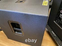 YAMAHA DXS15 Mk1 Subs 950 Watt each DXS-15 Powered Bass Bins To Match DXR15